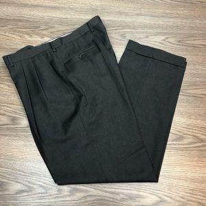 Canali Charcoal Grey Dress Pants 37x31